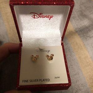 NWT Disney Birthstone Earrings